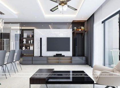 Thiết kế và thi công căn hộ anh Toản – Căn hộ Times City