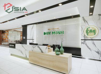 Thiết kế nội thất Công ty May Duy Minh